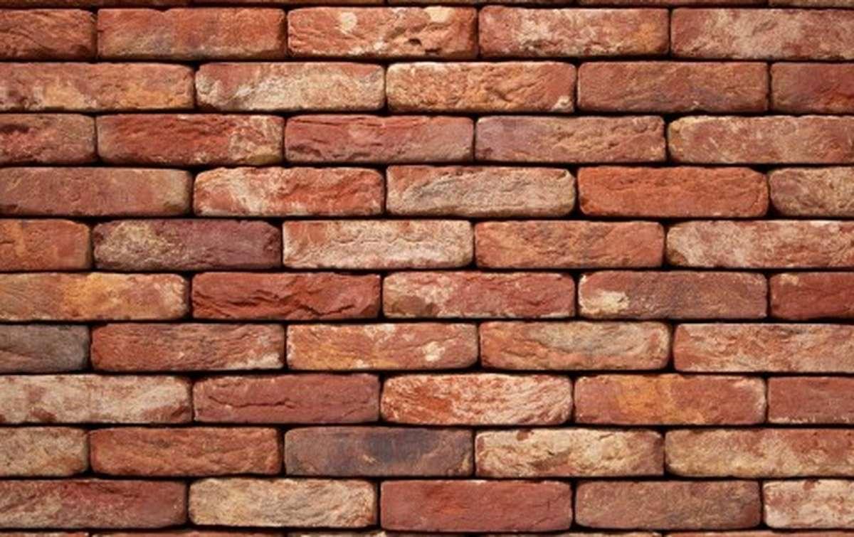 Фасадная плитка ручной формовки vandersanden  60. Oud Brabant, М50 рядовая