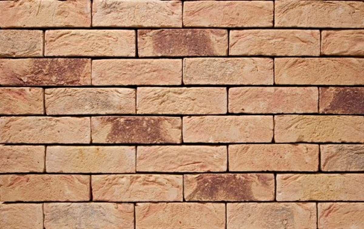 Фасадная плитка ручной формовки vandersanden  28. Mosa, М50 рядовая