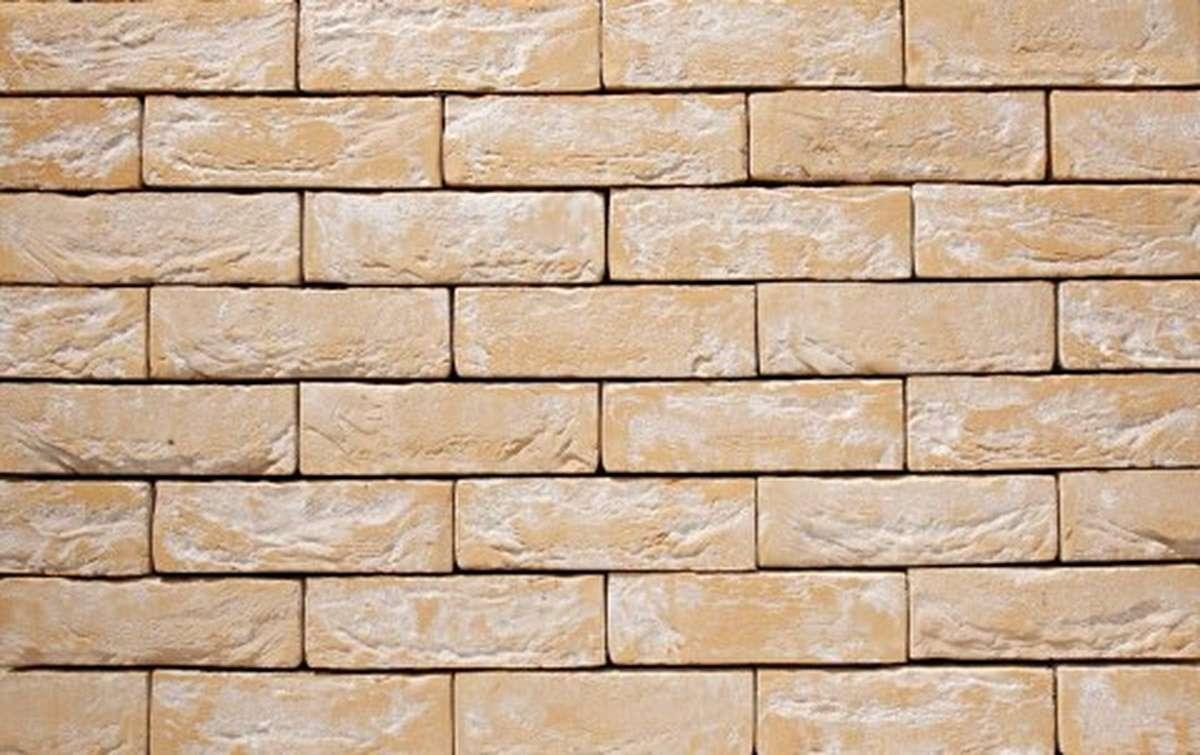 Фасадная плитка ручной формовки vandersanden  8. Lindebloem, М50 угловая