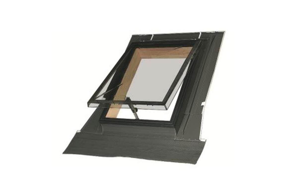 Мансардное окно для нежилых чердаков FAKRO WSZ 54x75