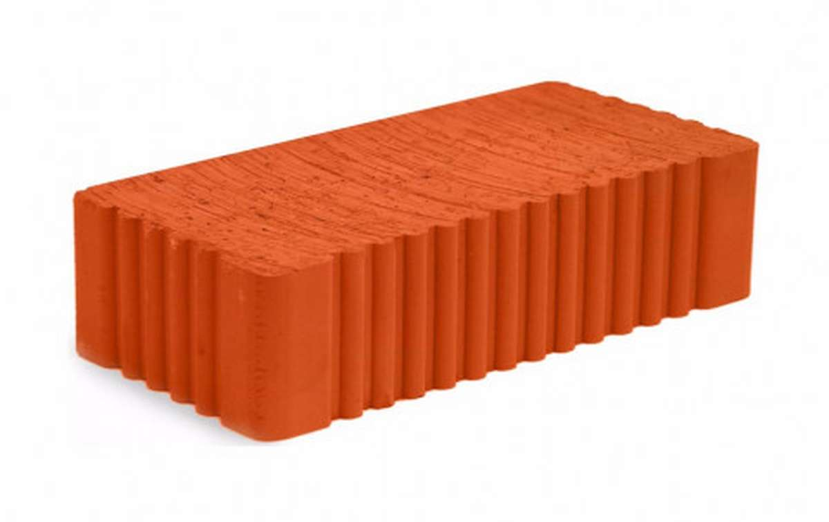 Рядовой кирпич МСТЕРА полнотелый красный 1НФ М-200