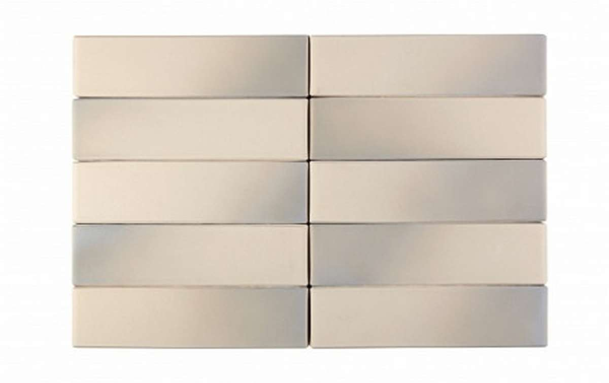 Облицовочный кирпич RECKE BRICKEREI 1-41-00-0-00, серый, гладкий, 1 NF
