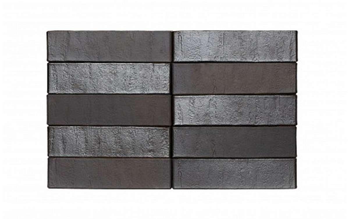 Облицовочный кирпич RECKE BRICKEREI 5-32-00-2-00, черный, гладкий, 1 NF