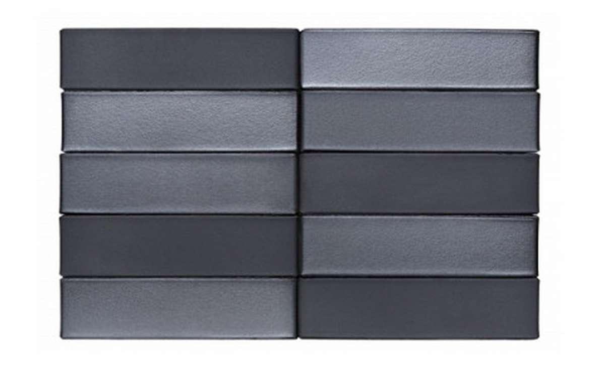 Облицовочный кирпич RECKE BRICKEREI 5-32-00-0-00, черный, гладкий, 0.7 NF