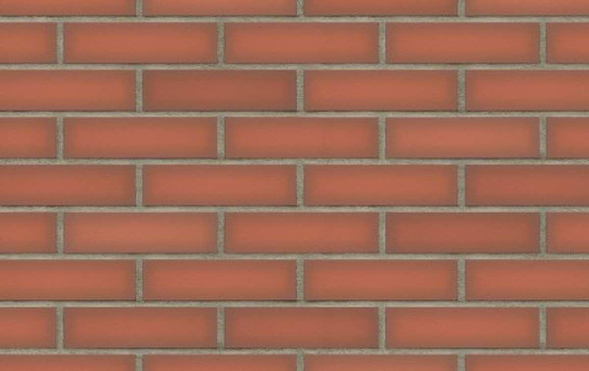 Фасадная клинкерная плитка King Klinker DREAM HOUSE Ruby flame (19), 250x65x10