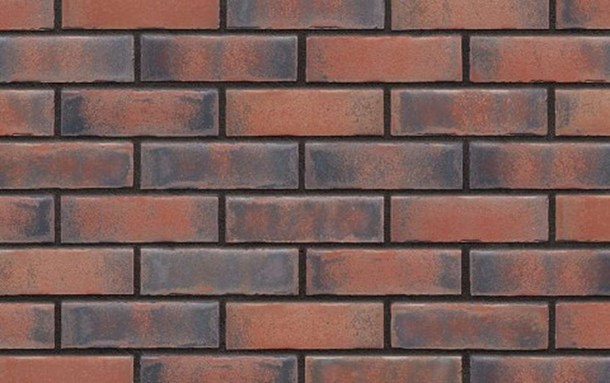 Фасадная клинкерная плитка King Klinker OLD CASTLE Heart brick (HF30), 240x71x10