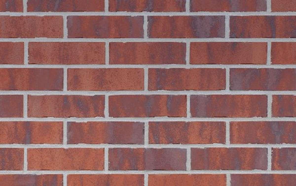 Фасадная клинкерная плитка King Klinker OLD CASTLE Red square (HF39), 240x71x10
