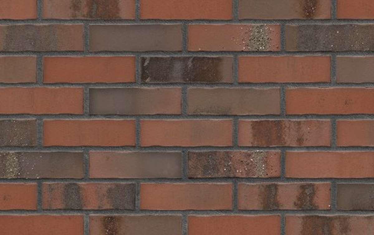 Фасадная клинкерная плитка King Klinker OLD CASTLE Old fort (HF51), 240x71x10