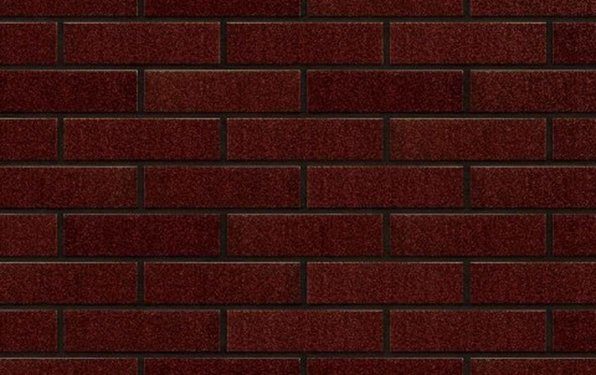 Фасадная клинкерная плитка King Klinker FREE ART. Brown-glazed (02), 240x71x10