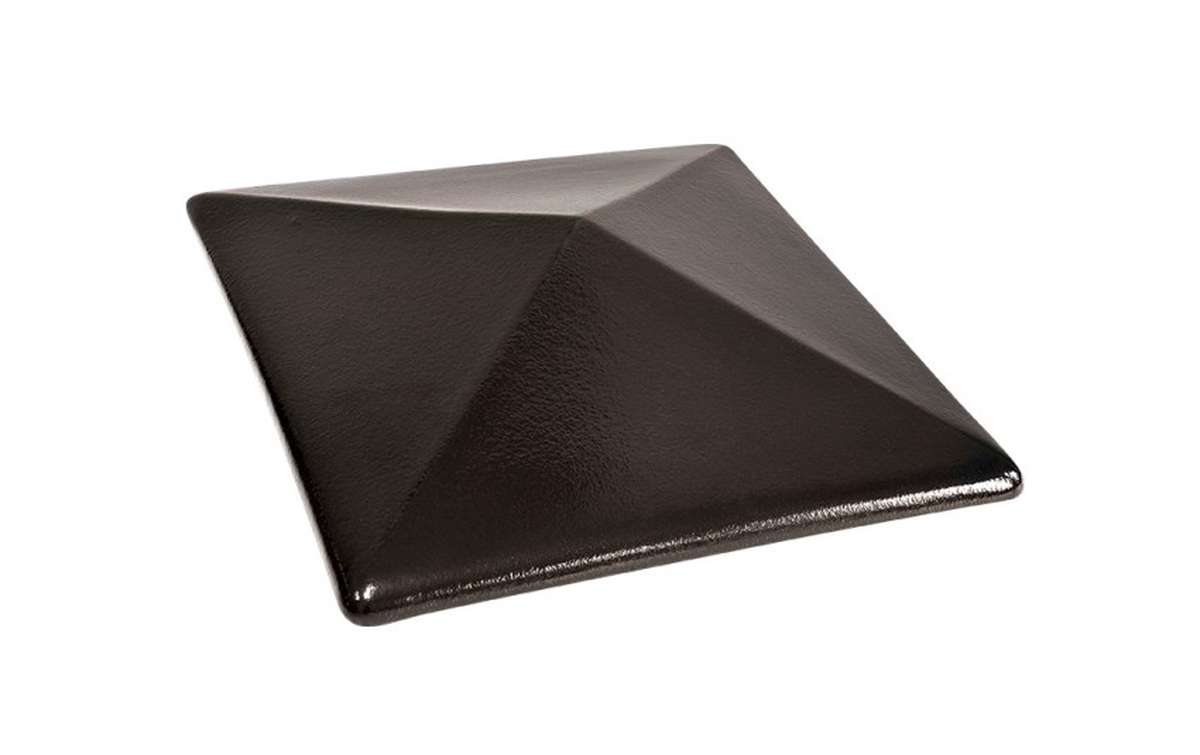 клинкерный колпак King Klinker 445x445x90, Ониксовый черный (17)