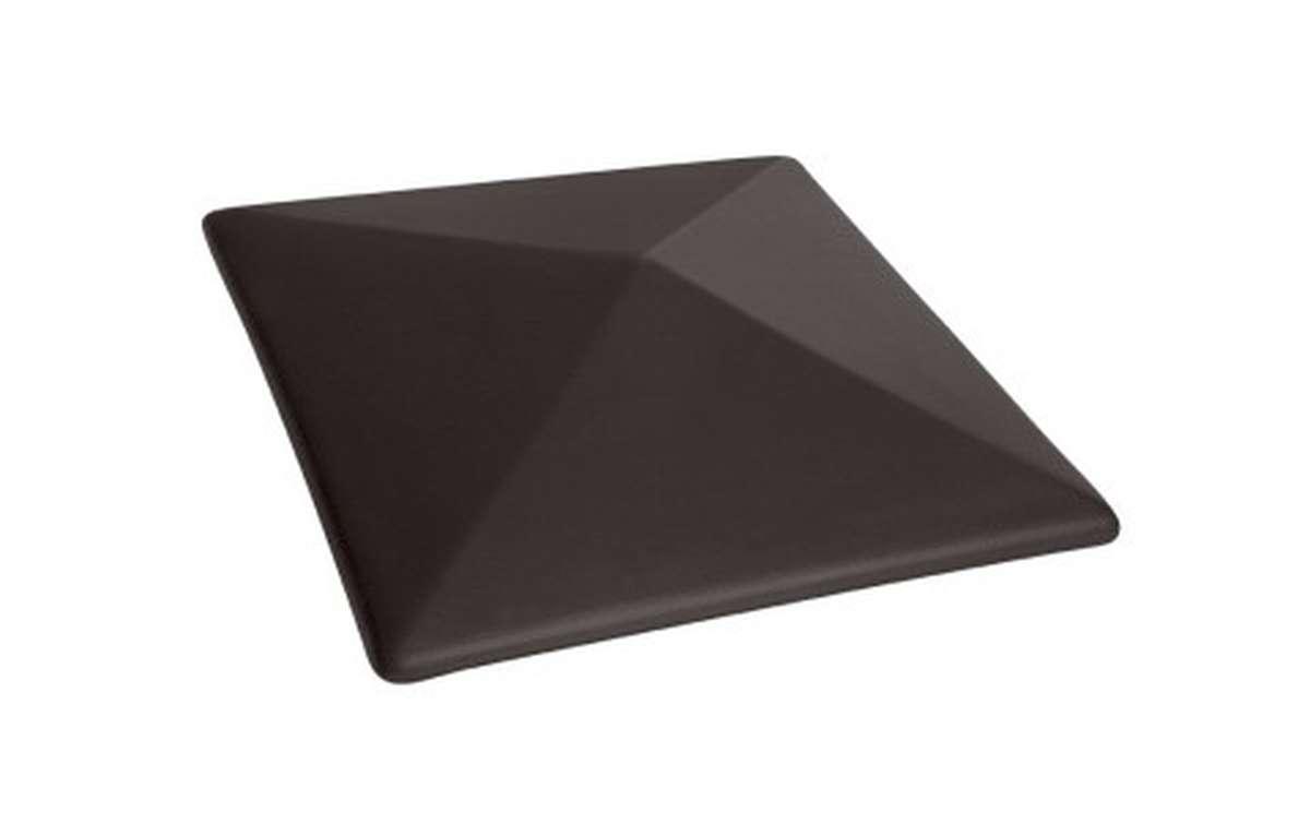 клинкерный колпак King Klinker 445x445x90, Вулканический черный (18)