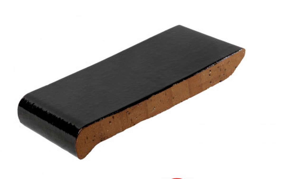 Подоконник ZG, 280x110x25, темно-коричневый