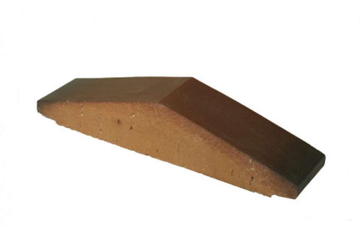 Профильный кирпич ZG, 295x65x60, вишневый