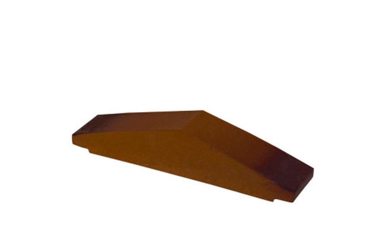 Профильный кирпич ZG, 295x65x60, каштановый
