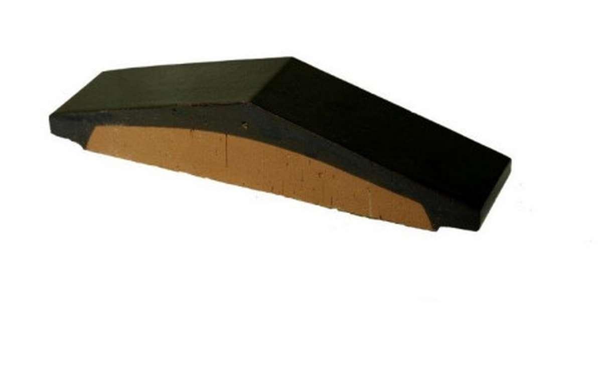 Профильный кирпич ZG, 295x65x60, темно-коричневый