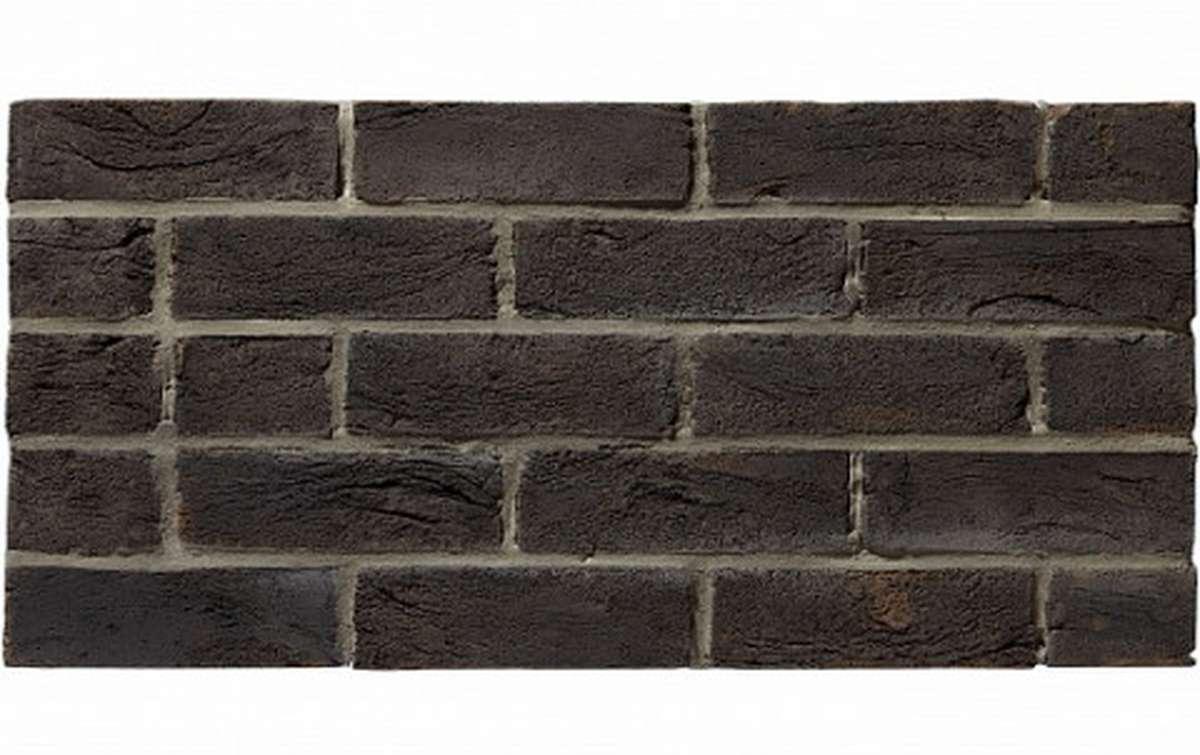 Кирпич ручной формовки RECKE BRICKEREI 5-00-00-0-00, черный, WDF
