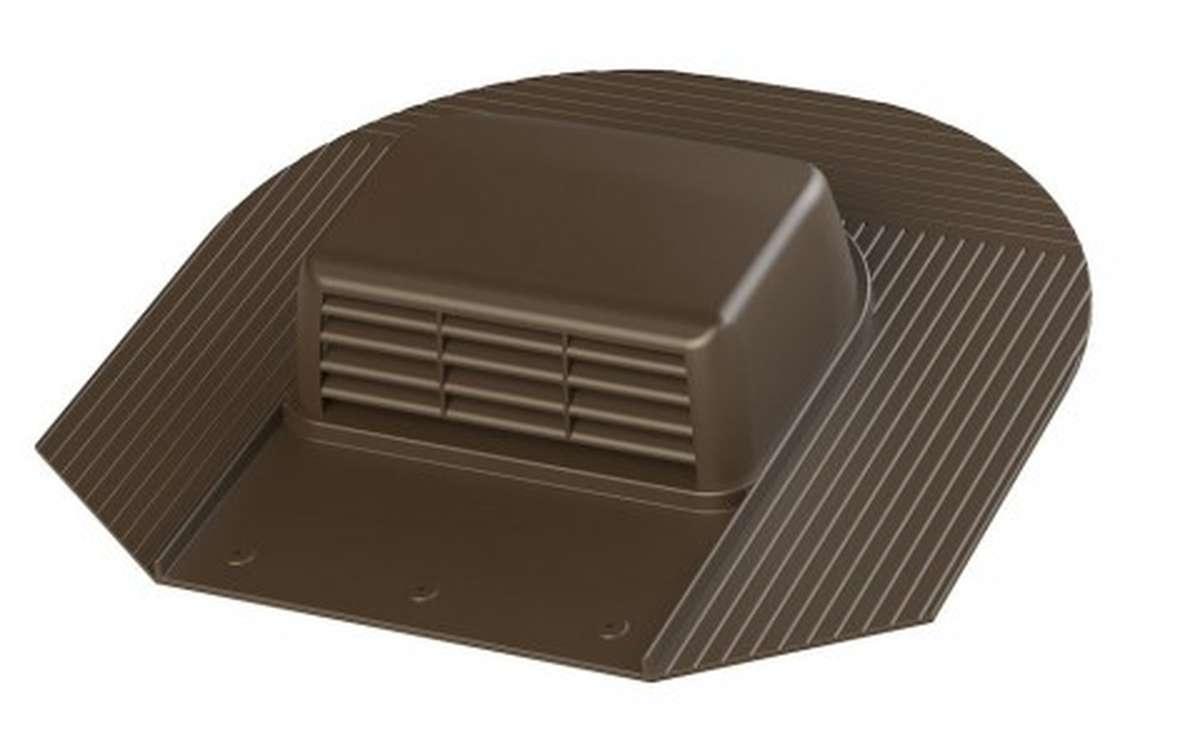 Вентилятор скатный VILPE Huopa KTV/Harja без адаптера, коричневый