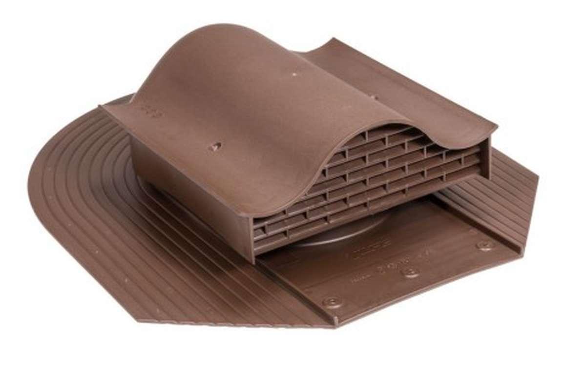Вентилятор скатный VILPE Huopa KTV без адаптера, коричневый