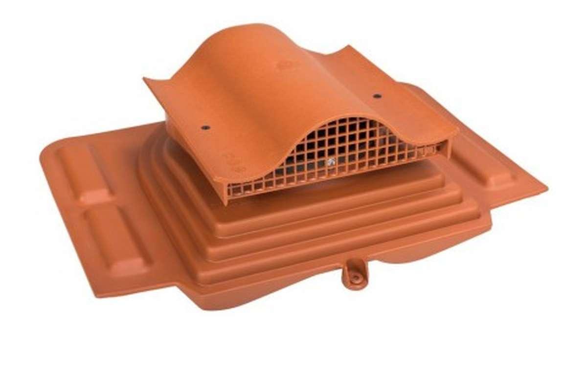 Вентилятор скатный VILPE Pelti KTV без адаптера, кирпичный