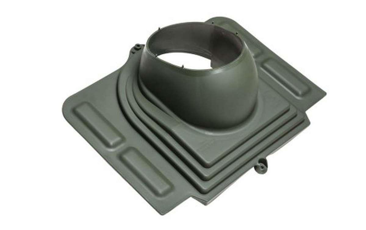 Проходной элемент VILPE Pelti, зеленый