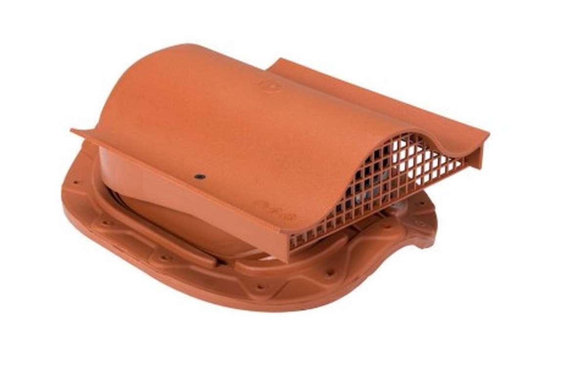 Вентилятор скатный VILPE Muotokate KTV без адаптера, кирпичный