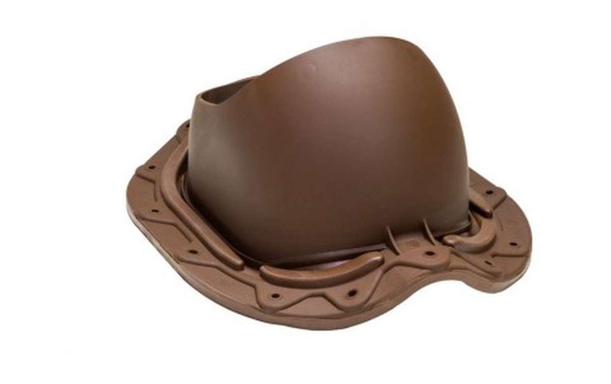 Проходной элемент VILPE Muotokate, шоколадный