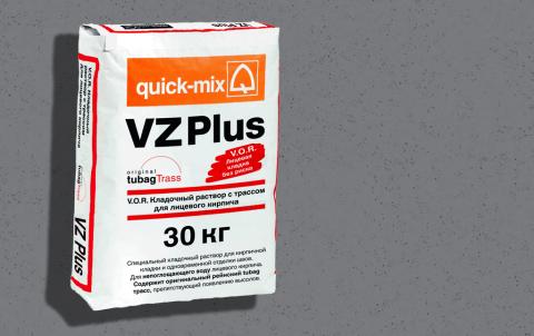 Кладочный раствор QUICK-MIX VZ plus.D , цвет серый