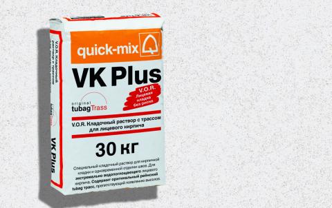 Кладочный раствор QUICK-MIX VK plus . A, цвет белый
