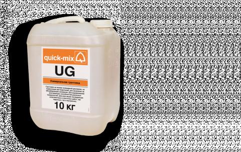 Грунтовка QUICK-MIX UG, цвет прозрачный