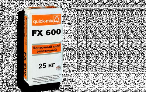 Плиточный клей QUICK-MIX FX 600, цвет бесцветный
