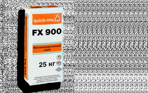 Плиточный клей QUICK-MIX FX 900, цвет бесцветный