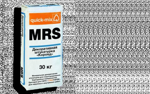Штукатурка QUICK-MIX MRS 2,5 mm, цвет белый