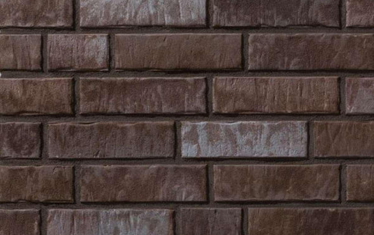 фасадная клинкерная плитка STROEHER 7415 ZEITLOS 359 kohlenglanz, размер 239x65x16