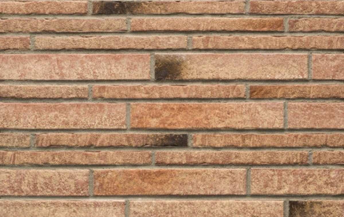 Фасадная плитка ригель-формат STROEHER 7435 ZEITLOS 357 backstein, размер 400х35х14