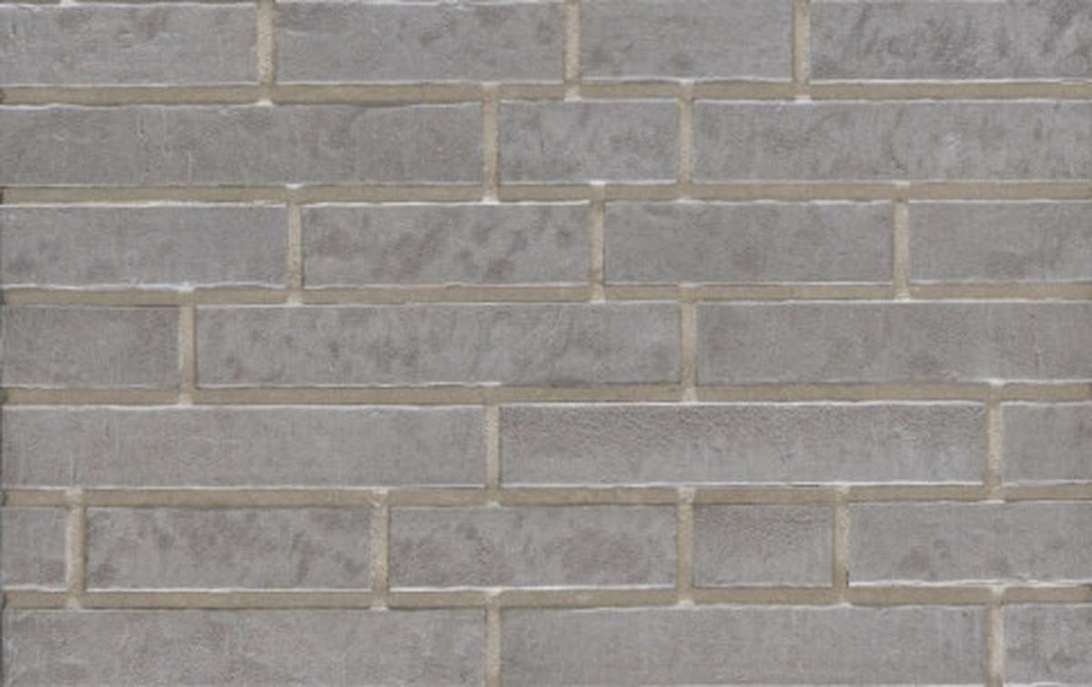 Фасадная плитка ригель-формат STROEHER 7440 ZEITLOS 237 austerrauch, размер 400x71x14
