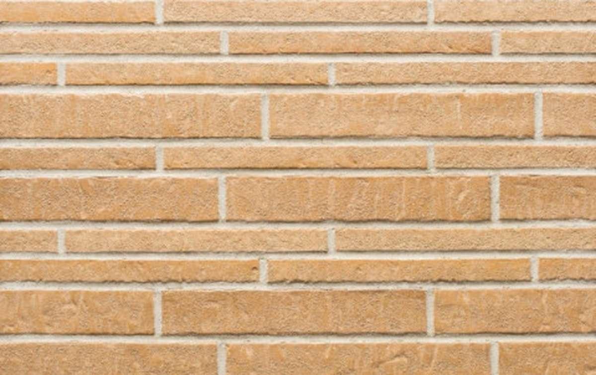 Фасадная плитка ригель-формат STROEHER 7440 ZEITLOS 355 sandschmelz, размер 400x71x14