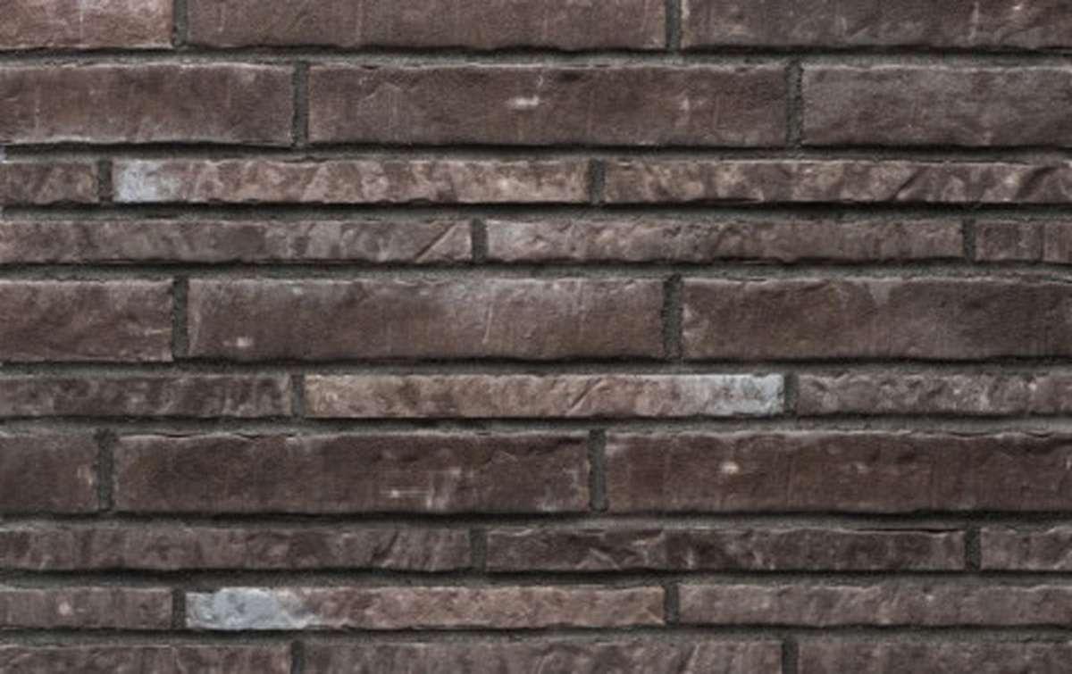 Фасадная плитка ригель-формат STROEHER 7440 ZEITLOS 359 kohlenglanz, размер 400x71x14