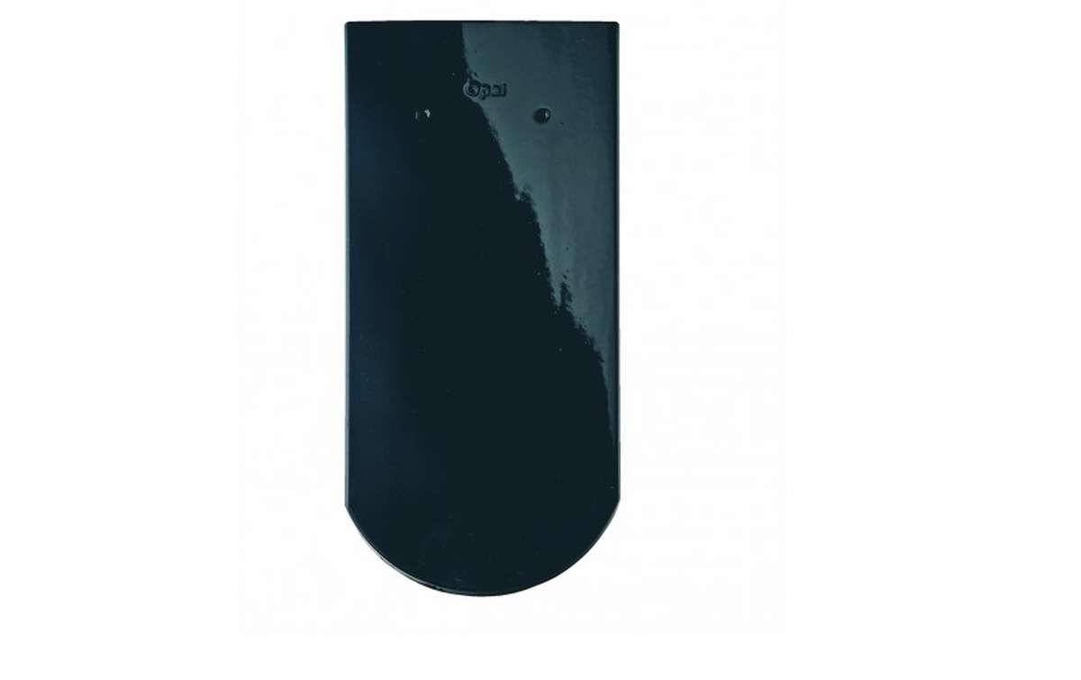 Керамическая черепица BRAAS Опал, черный бриллиант