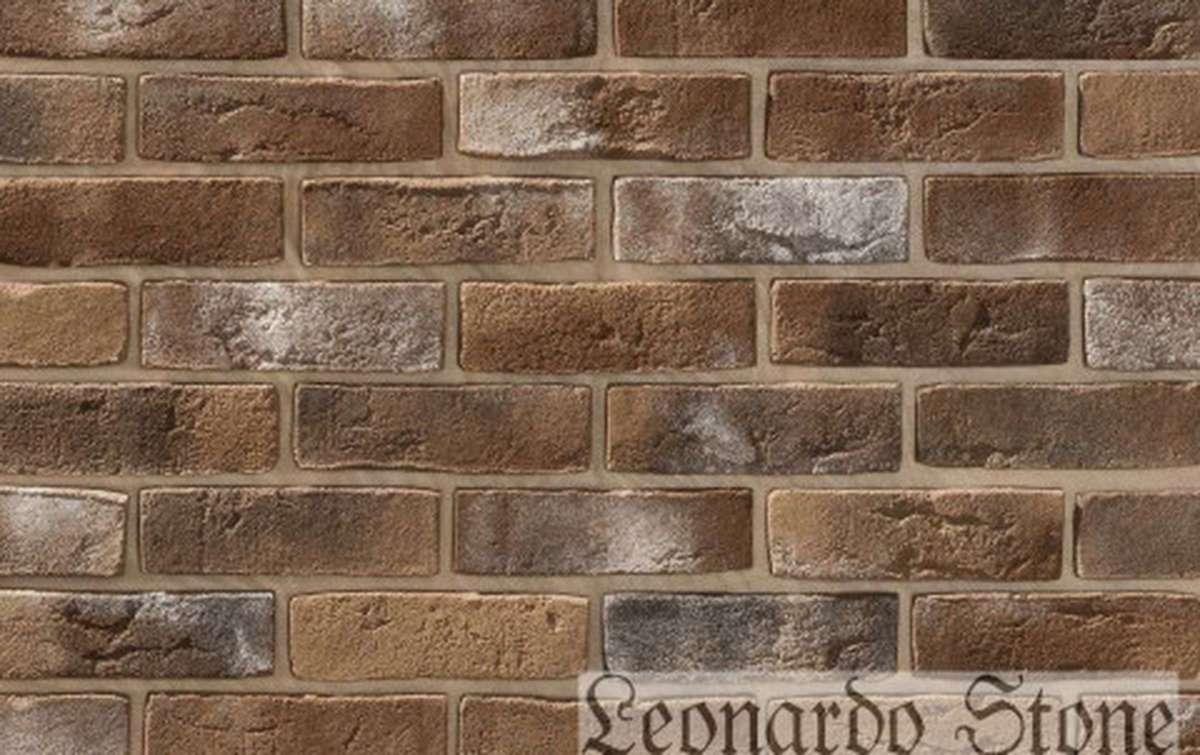Фасадная плитка Leonardo Stone декоративный кирпич Дижон 402