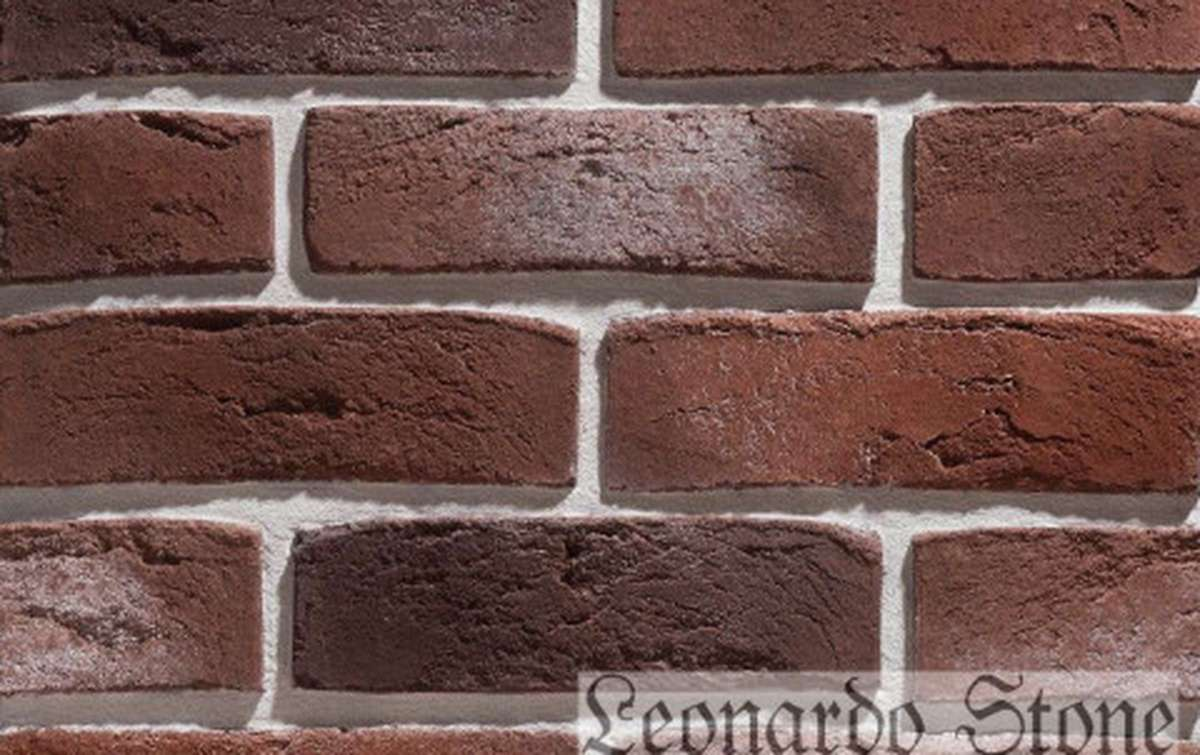 Фасадная плитка Leonardo Stone декоративный кирпич Дижон 408