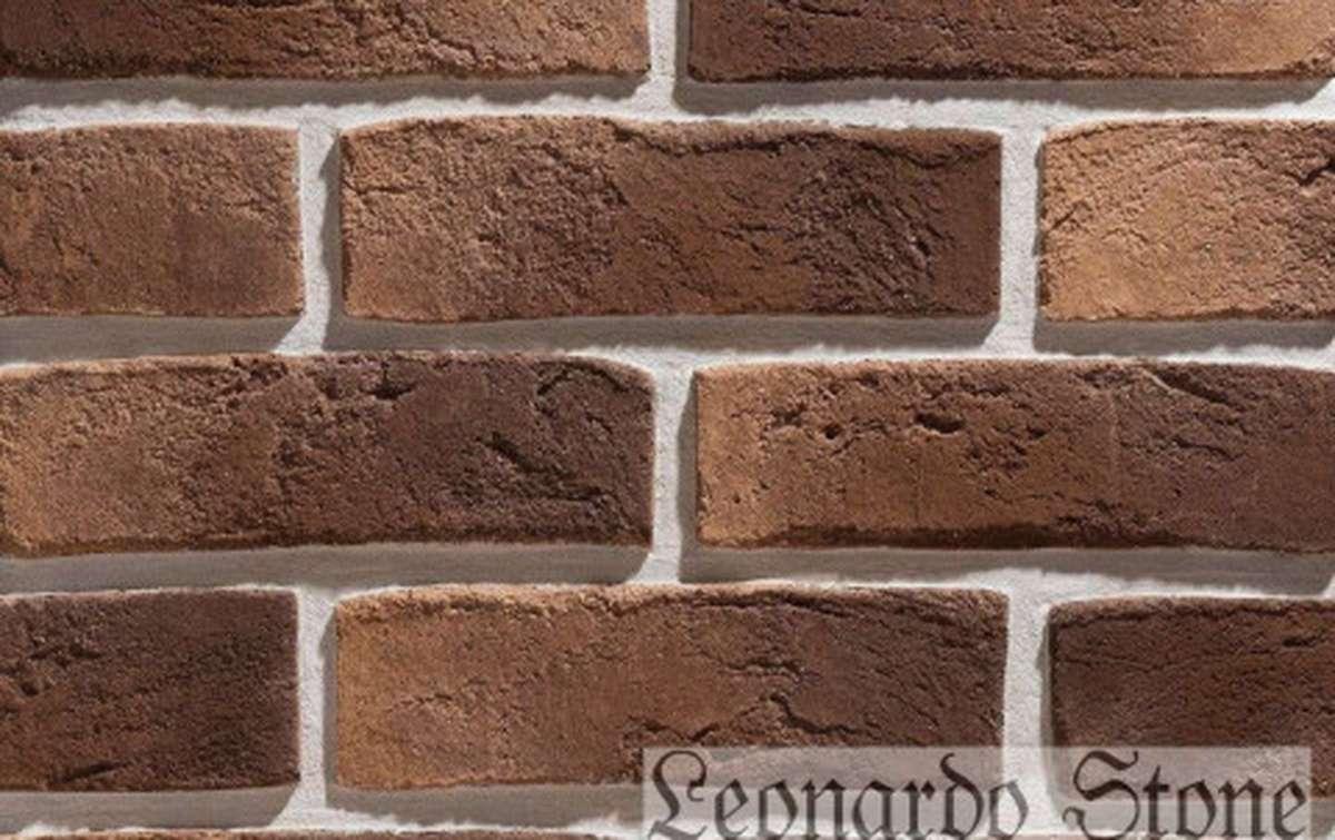 Фасадная плитка Leonardo Stone декоративный кирпич Дижон 440