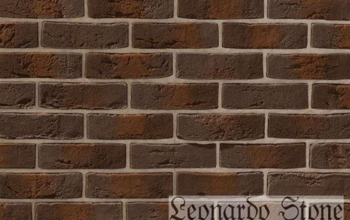 Фасадная плитка Leonardo Stone декоративный кирпич Дижон 443