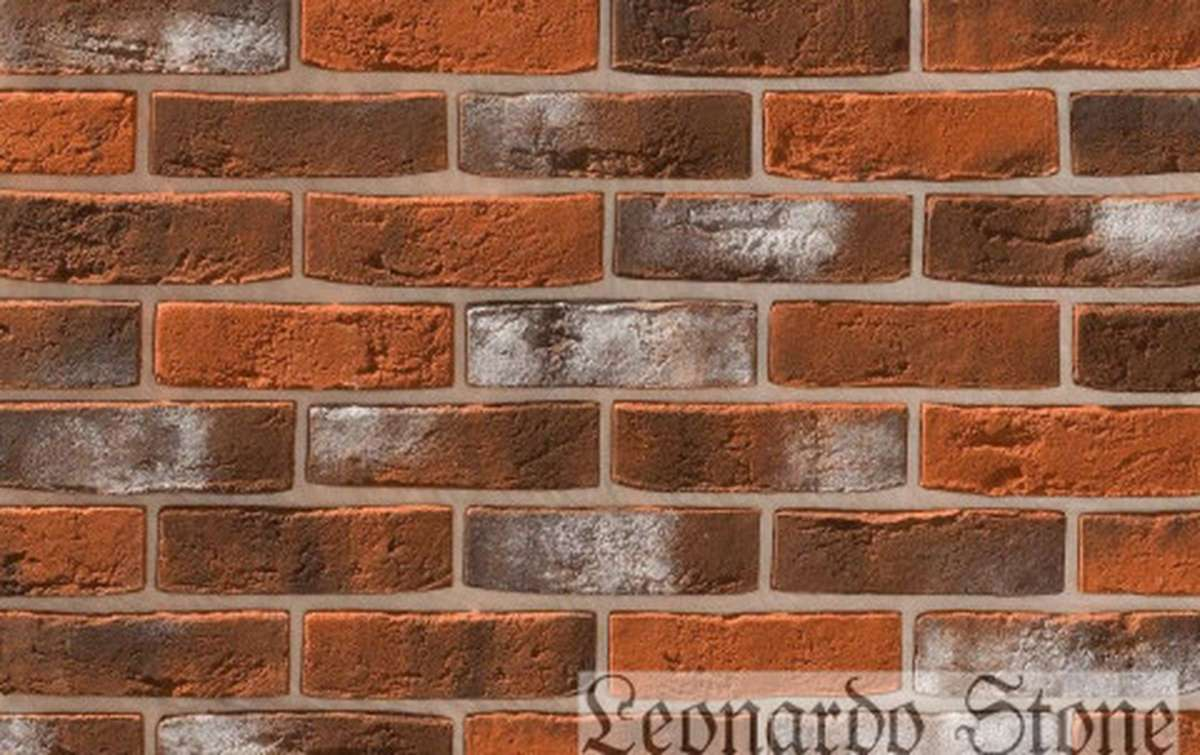 Фасадная плитка Leonardo Stone декоративный кирпич Дижон 480