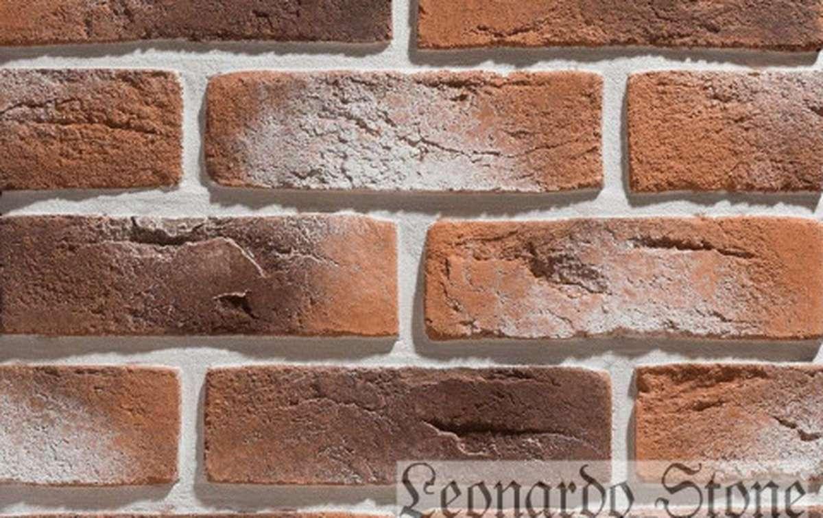 Фасадная плитка Leonardo Stone декоративный кирпич Дижон 485
