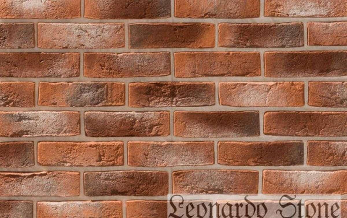 Фасадная плитка Leonardo Stone декоративный кирпич Дижон 490