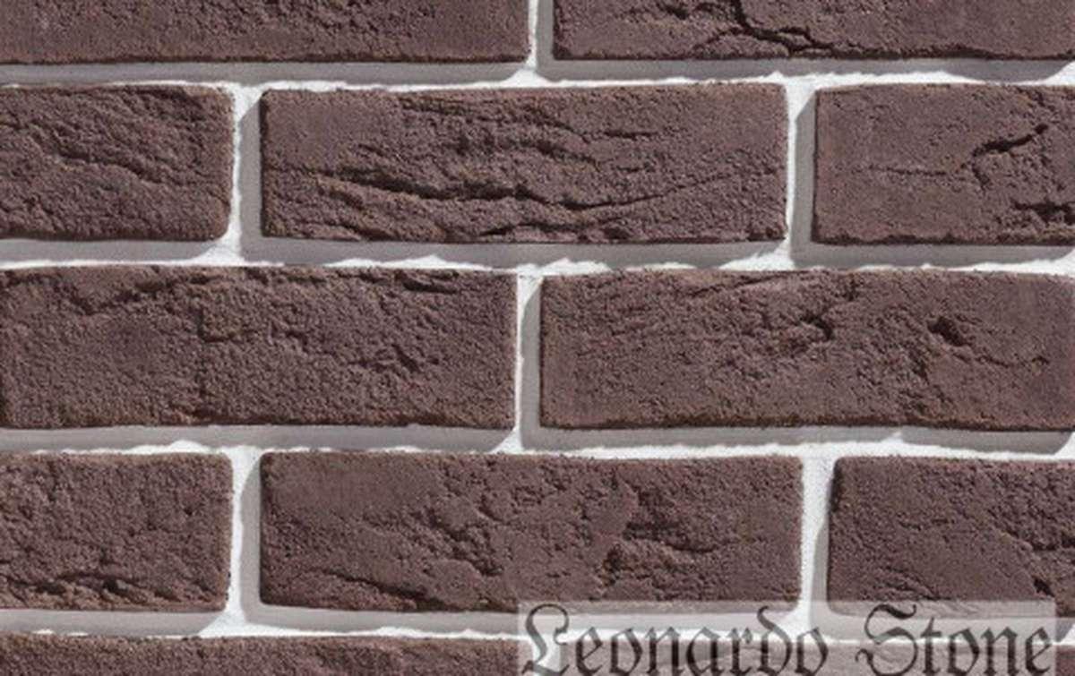 Фасадная плитка Leonardo Stone декоративный кирпич Дижон 709