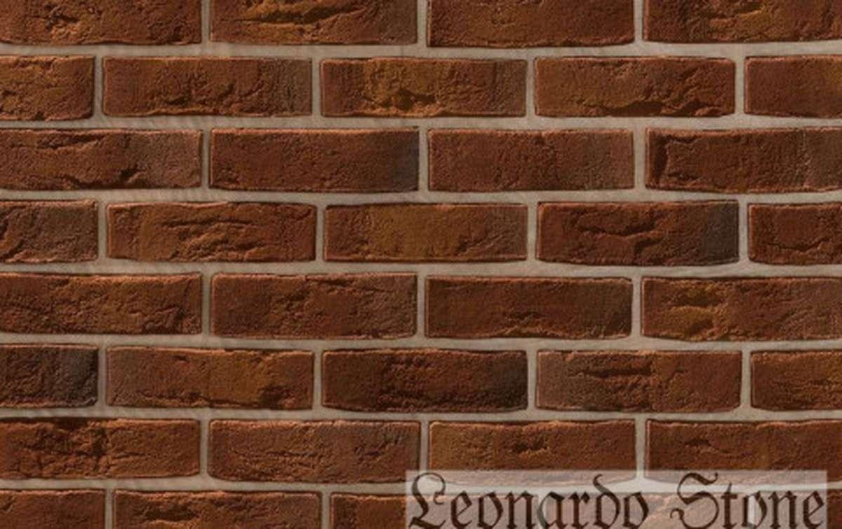 Фасадная плитка Leonardo Stone декоративный кирпич Дижон 737