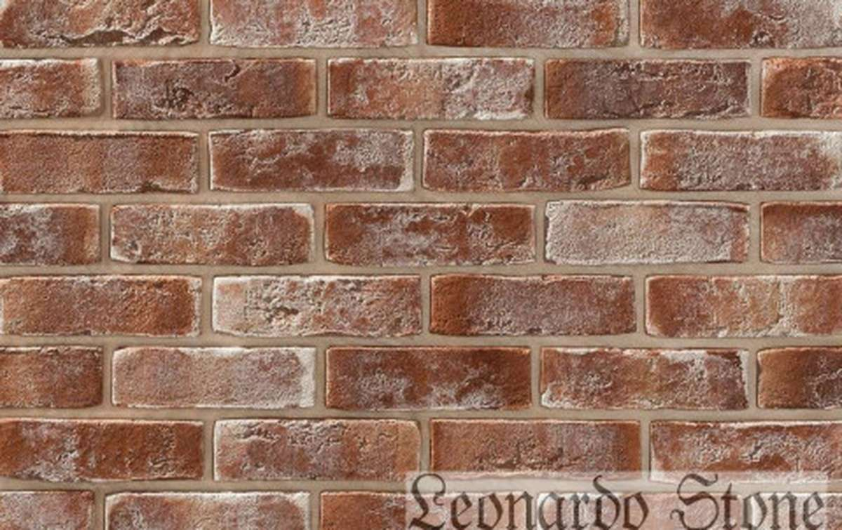 Фасадная плитка Leonardo Stone декоративный кирпич Дижон 788