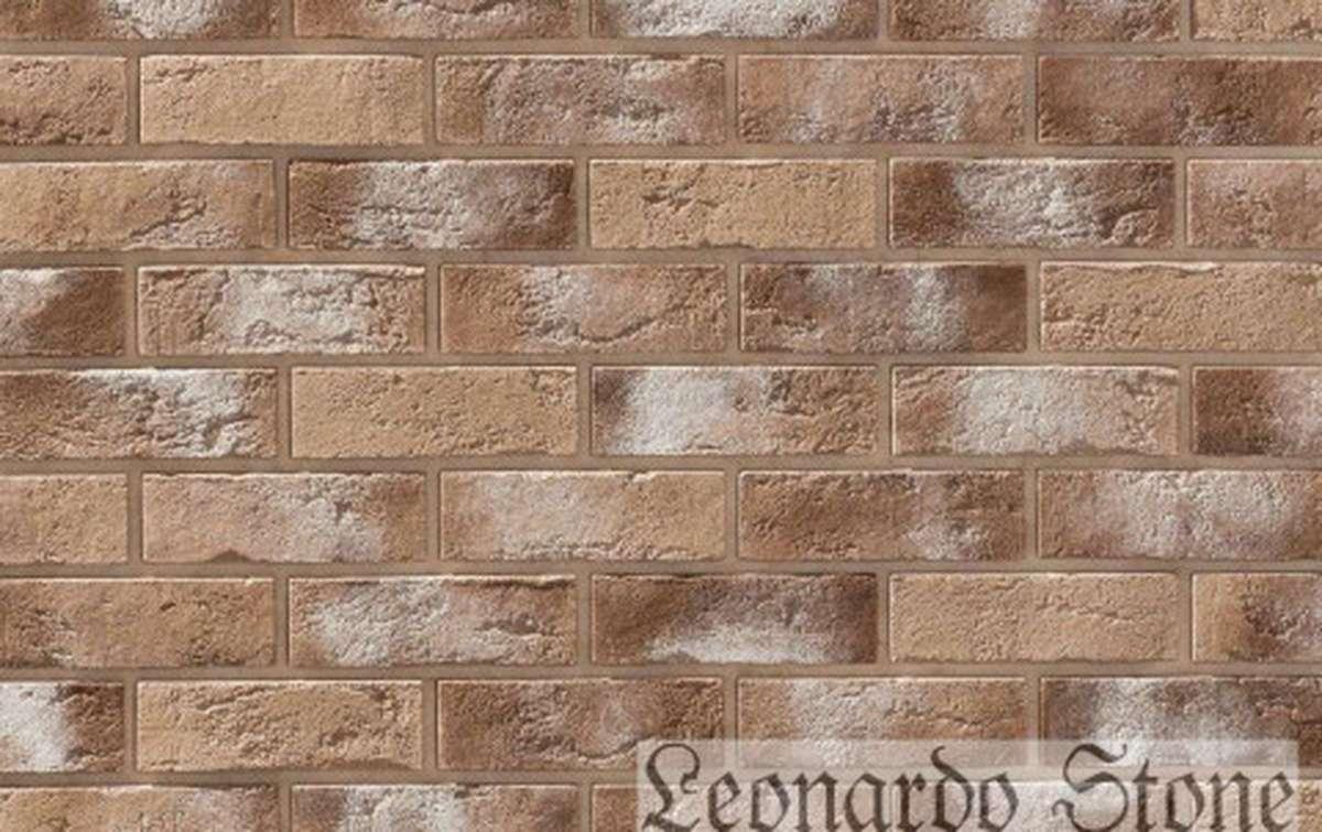 Фасадная плитка Leonardo Stone декоративный кирпич Бремен 333
