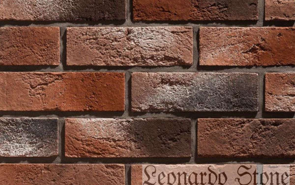 Фасадная плитка Leonardo Stone декоративный кирпич Бремен 408